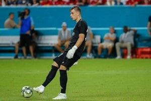 Лунин дебютировал за мадридский Реал